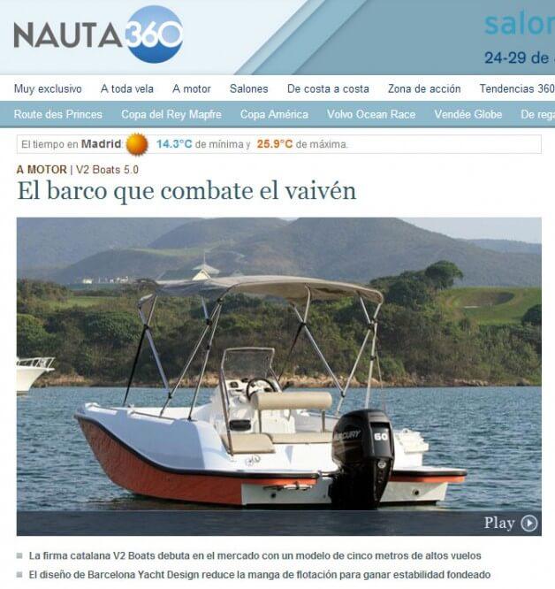 Nauta 360 prueba el 5.0